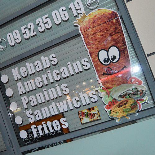 vitrine kebab
