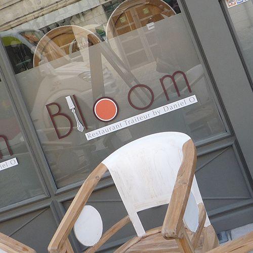 depoli et lettrage restaurant