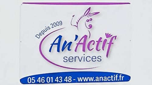 Un logo dynamique pour une société active